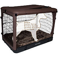 Pet Gear The Other Door Steel Dog Crate with Pad
