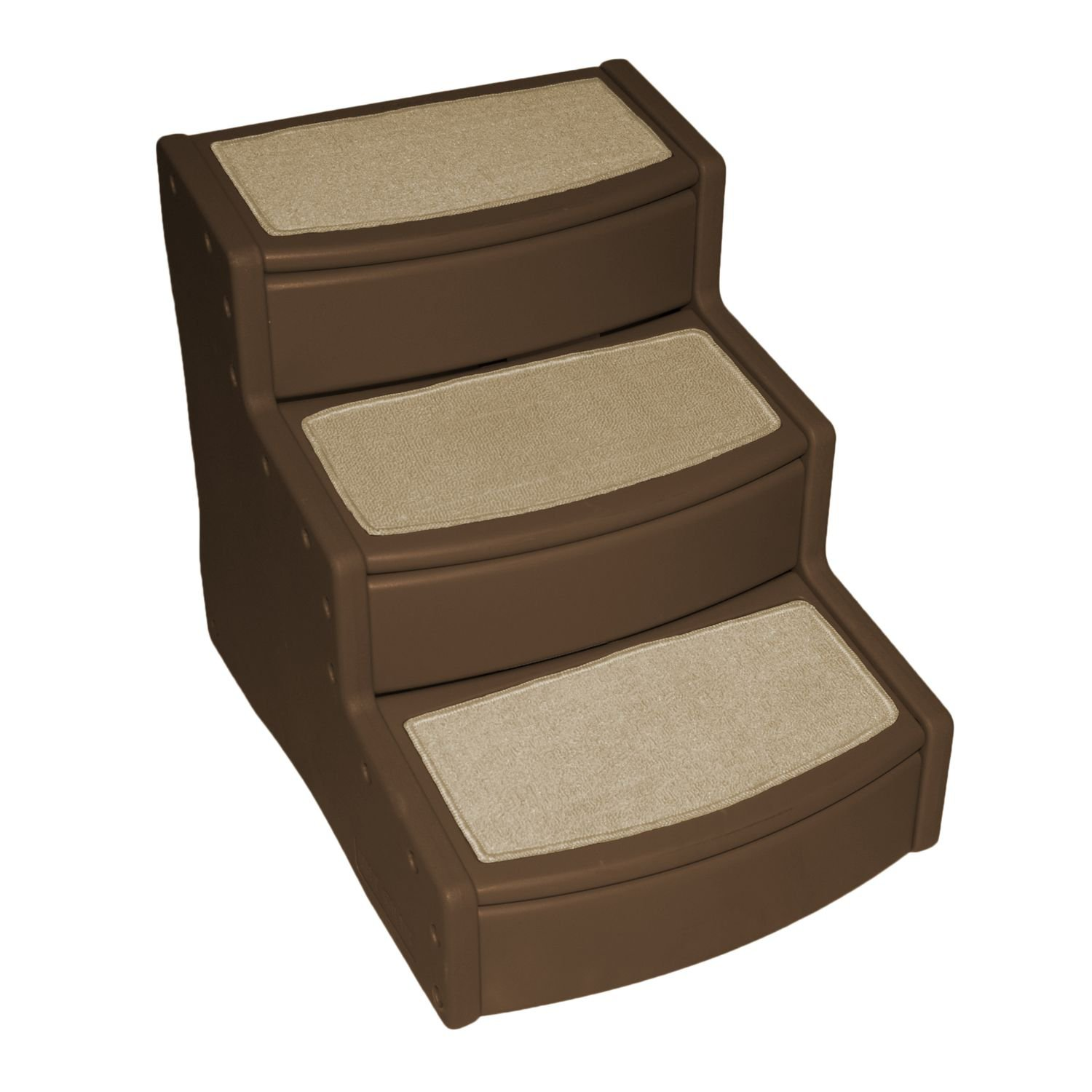 Pet Gear Extra Wide Easy Step III Pet Stairs in Chocolate