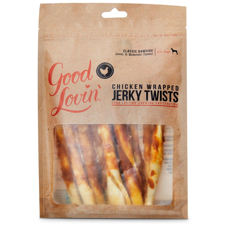 Good Lovin' Chicken Wrapped Jerky Twists Dog Chews