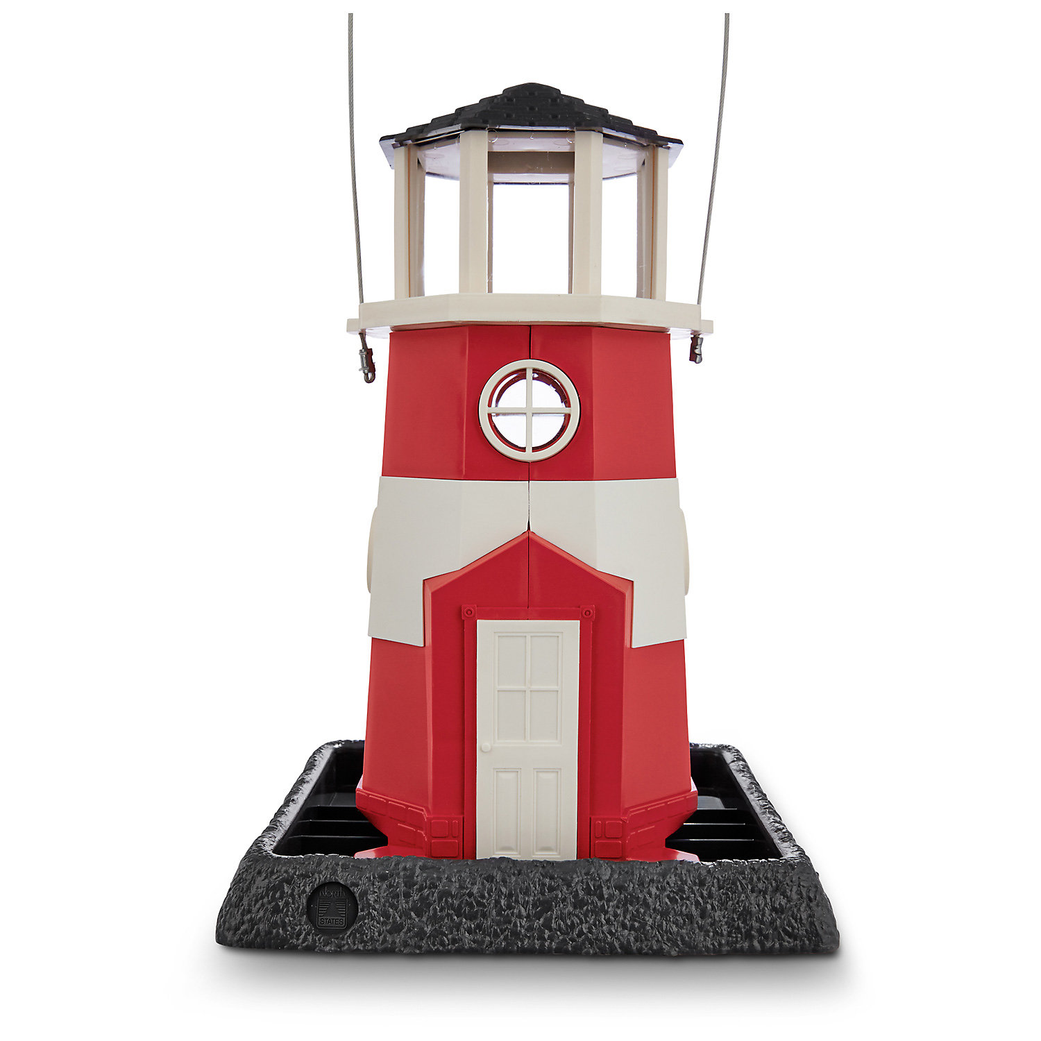 North States Shoreline Lighthouse Bird Feeder 10 L X 9 W X 15 H