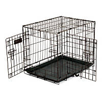Precision Pet 2 Door Copper Hammertone Dog Crate