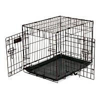Precision Pet 2 Door Copper Hammertone Dog Crate