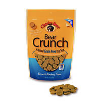 Charlee Bear Grain Free Bacon & Blueberry Bear Crunch Dog Treats