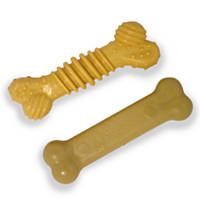 Nylabone Dura Chew Twin Pack Bacon & Chicken Flavored Dog Chews