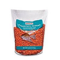 Petco Orange Aquarium Gravel