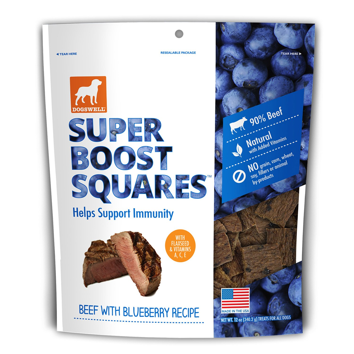 Dogswell Super Boost Bites Beef Dog Treats