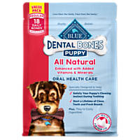 Blue Buffalo Regular Puppy Bones Dental Dog Treats