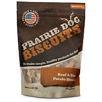 Prairie Dog Beef & Sweet Potato Biscuits Dog Treats