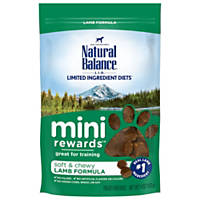 Natural Balance Mini Rewards Lamb Dog Treats