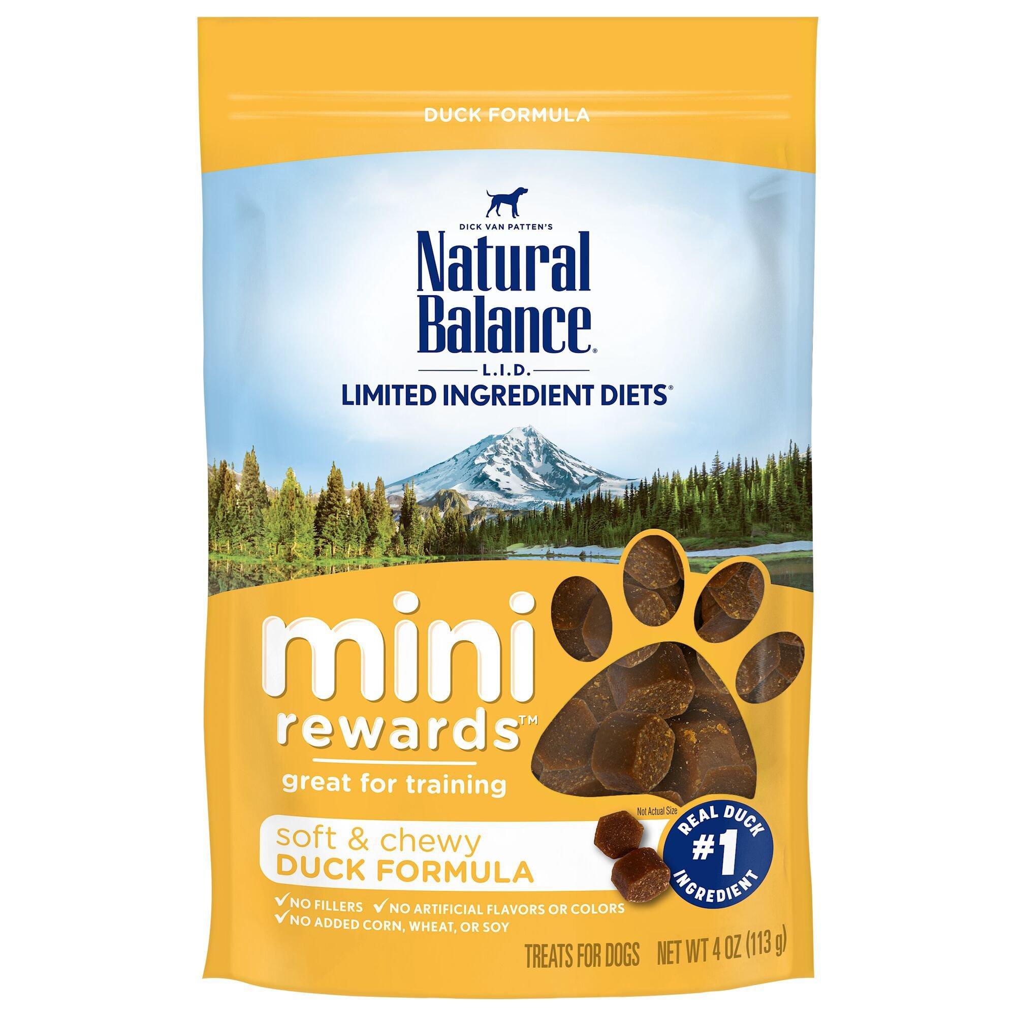 Natural Balance Mini Rewards Duck Dog Treats