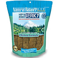 Natural Balance L.I.T. Limited Ingredient Treats Hip & Joint Chicken Jerky Dog Treats