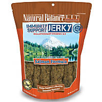 Natural Balance L.I.T. Limited Ingredient Treats Immunity Support Salmon Jerky Dog Treats