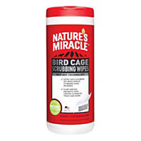 Nature's Miracle Bird Cage Scrubbing Wipes