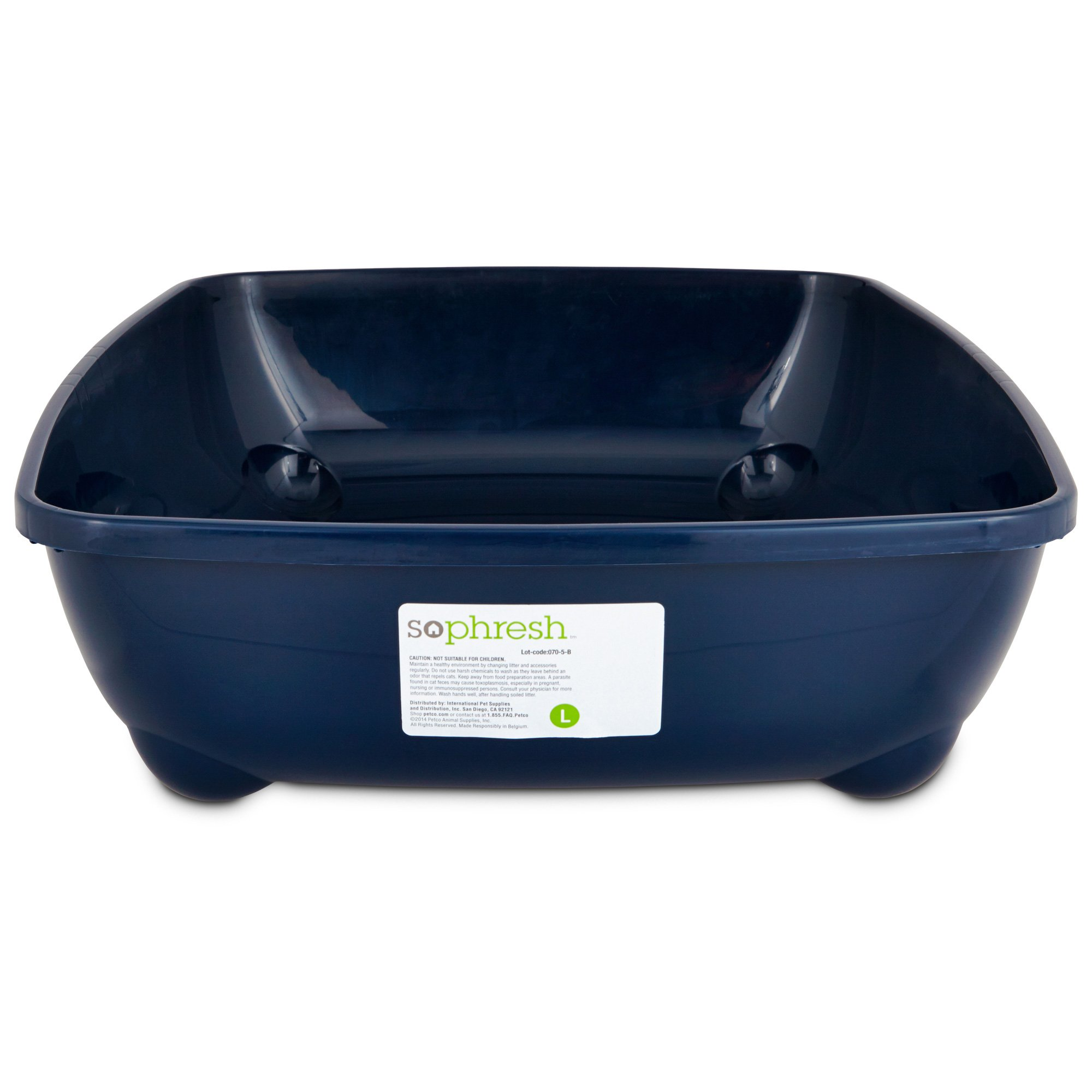 So Phresh Blue Large Open Litter Box