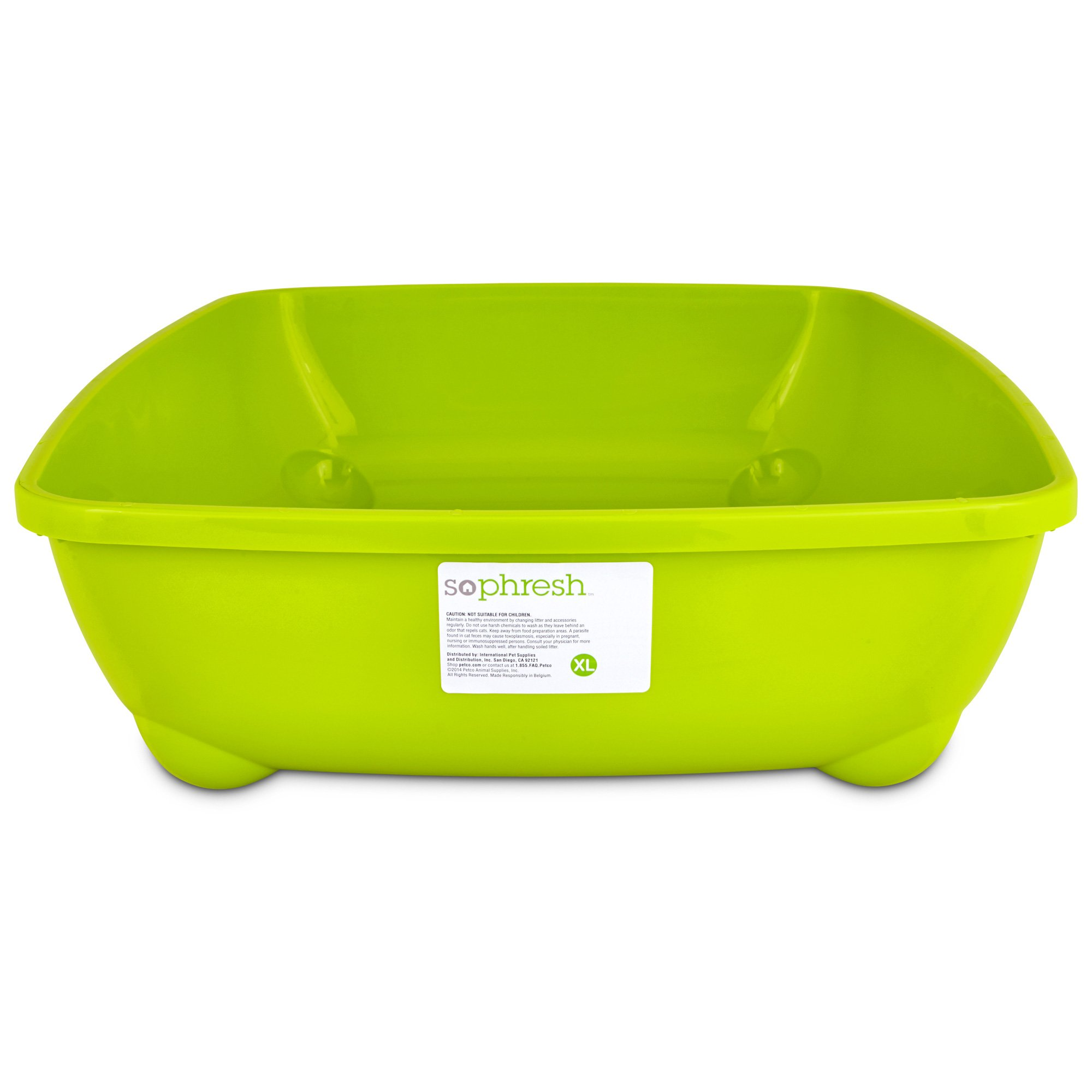 So Phresh Lime Green X-Large Open Litter Box
