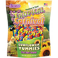 Brown's Tropical Carnival Sunflower Yummies Bird Treats