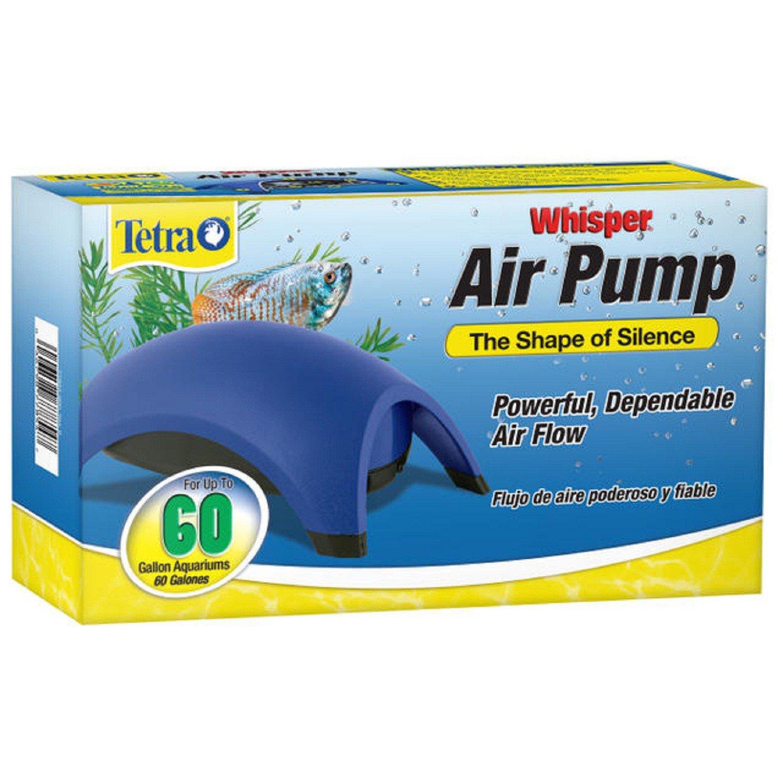 Tetra Whisper Aquarium Air Pump, For 60 gallon Aquariums