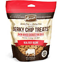 Merrick Real Beef Jerky Chips Dog Treats
