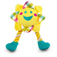 You & Me Puppy Sun with Rope Legs Dog Toy