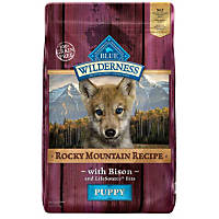 Blue Buffalo Wilderness Rocky Mountain Recipe with Bison Puppy Food
