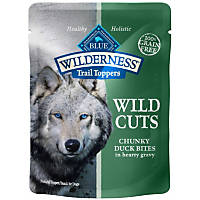 Blue Buffalo Wilderness Trail Toppers Duck Wild Cuts Dog Food Topper