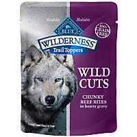 Blue Buffalo Wilderness Trail Toppers Beef Wild Cuts Dog Food Topper