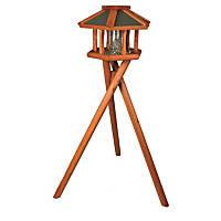 Trixie Deluxe Wooden Bird Feeder Gazebo & Stand