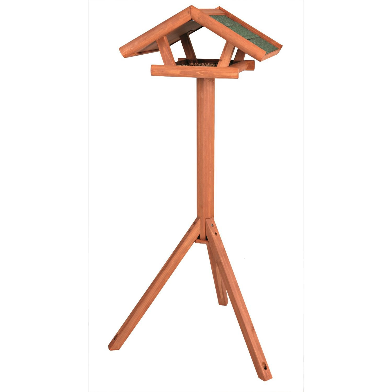 Trixie Traditional Wooden Bird Feeder & Stand