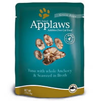 Applaws Tuna and Anchovy  Adult Cat Food Pouch