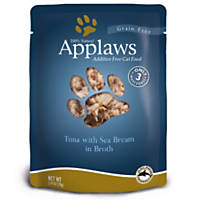 Applaws Tuna and Sea Bream  Adult Cat Food Pouch