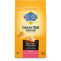 Nature's Recipe Grain Free Indoor with Hairball Control Salmon & Potato Cat Food