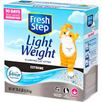 Fresh Step Lightweight Extreme with Febreze Odor Control Scoopable Clumping Cat Litter