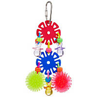 Super Bird Creations Disky Business Bird Toy