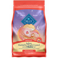 Blue Buffalo Indoor Hairball & Weight Control Chicken & Brown Rice Adult Cat Food