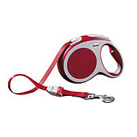 Flexi Vario Tape Retractable Dog Leash in Red
