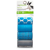 So Phresh Pick It Up Print Dog Waste Bags, Blue