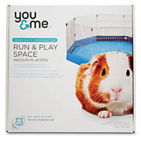 You & Me Run & Play Space Small Animal Playpen