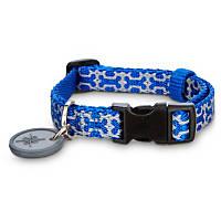 Good2Go Reflective Blue Bone Comfort Dog Collars