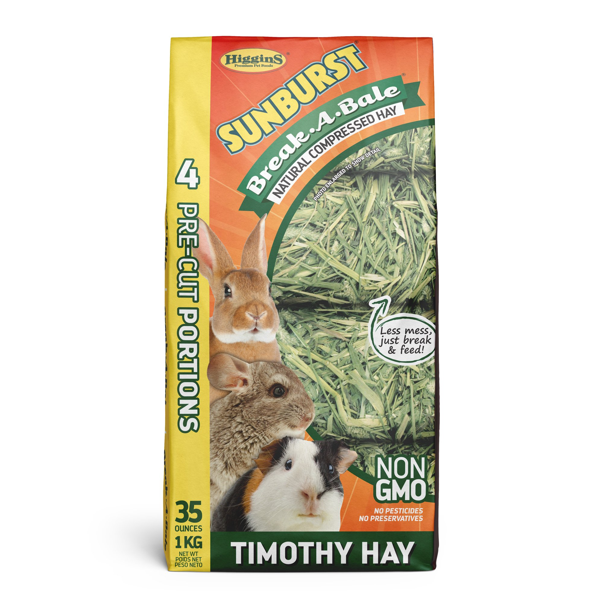 Higgins Sunburst Break-A-Bale Timothy Hay