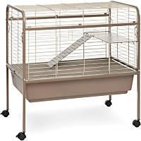 Prevue Hendryx Cocoa & Cream Small Animal Cage with Stand
