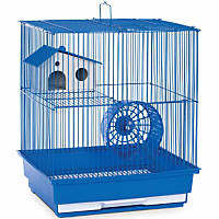 Prevue Hendryx Two Story Blue Small Animal Cage