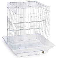Prevue Hendryx Clean Life Series Bird Cage in White