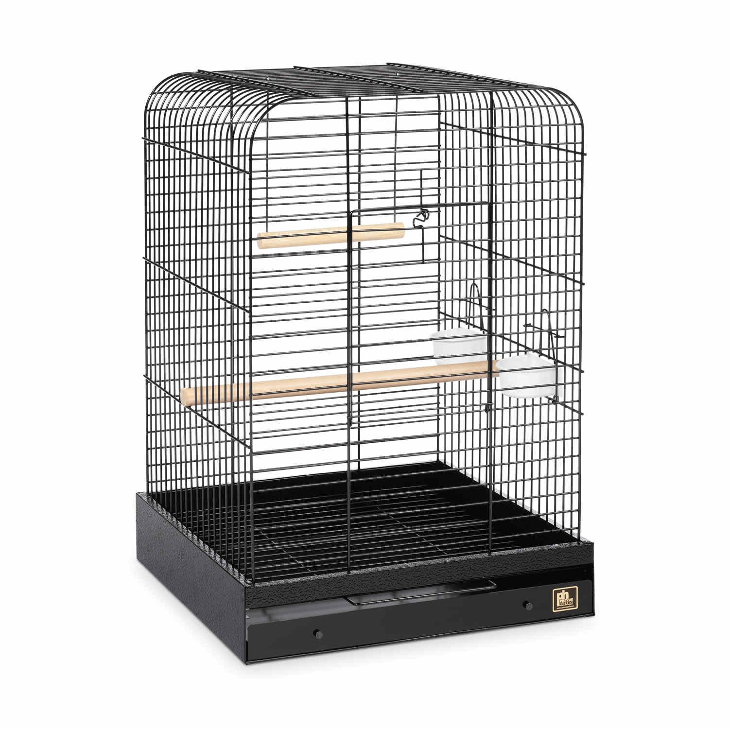Prevue Hendryx Parrot Cage in Black