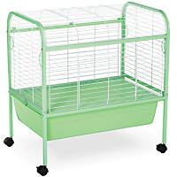 Prevue Hendryx Grass Green & White Small Animal Cage with Stand