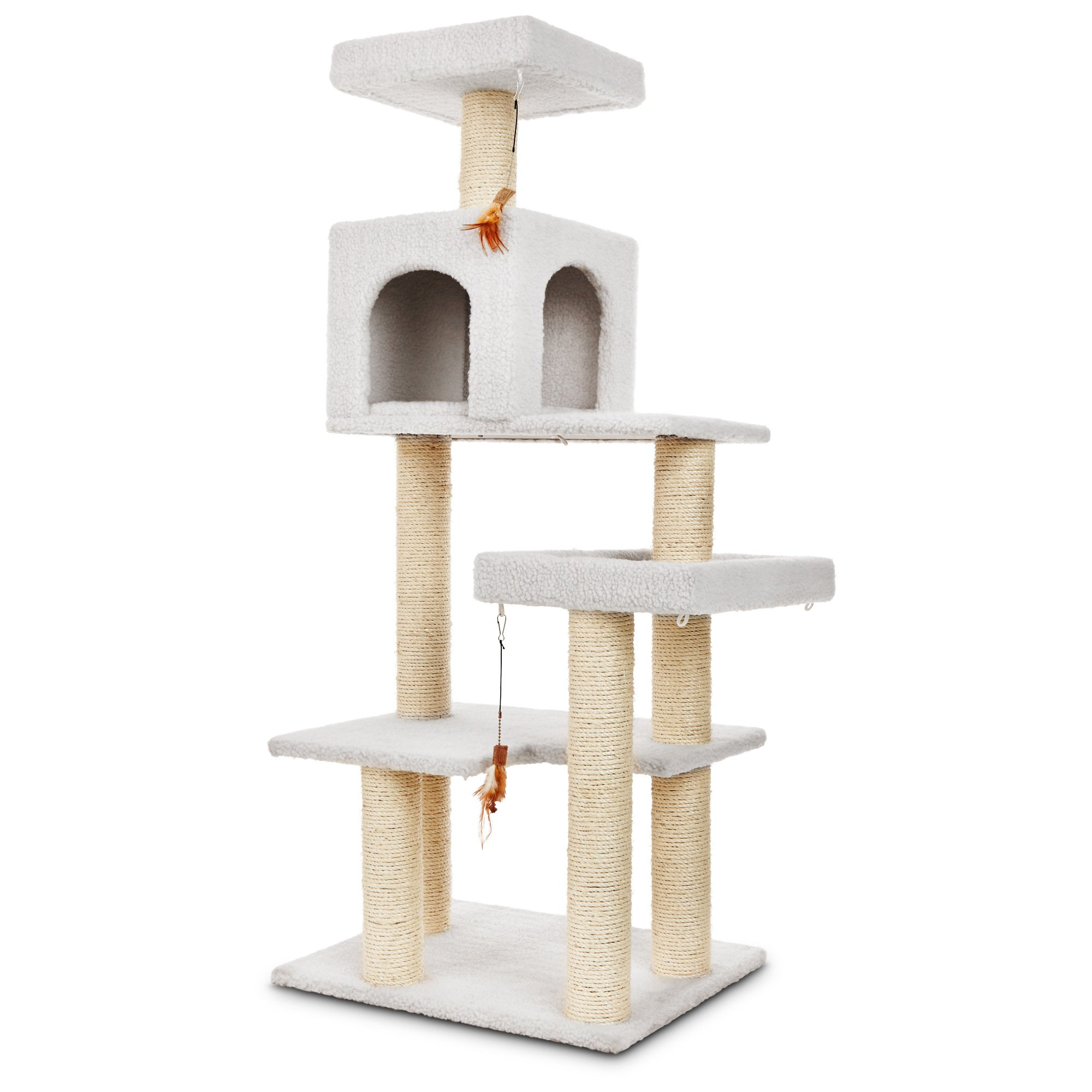 You & Me Scratch & Snooze Station Cat Tree