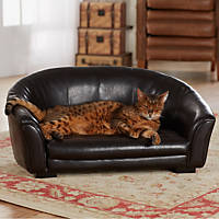 Enchanted Home Pet Artemis Sofa Dog Bed in Brown