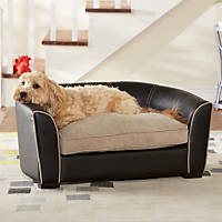 Enchanted Home Pet Ultra Plush Remy Sofa Dog Bed