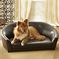 Enchanted Home Pet Winston Sofa Dog Bed in Brown