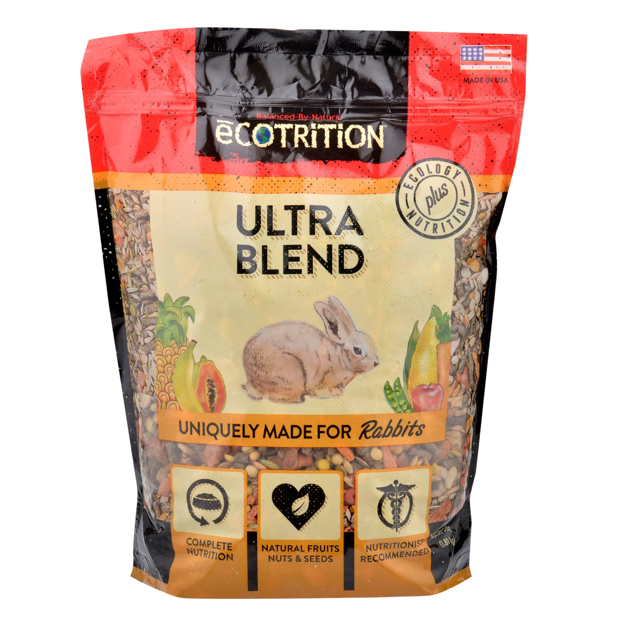 eCOTRITION Ultra Blend Rabbit Food