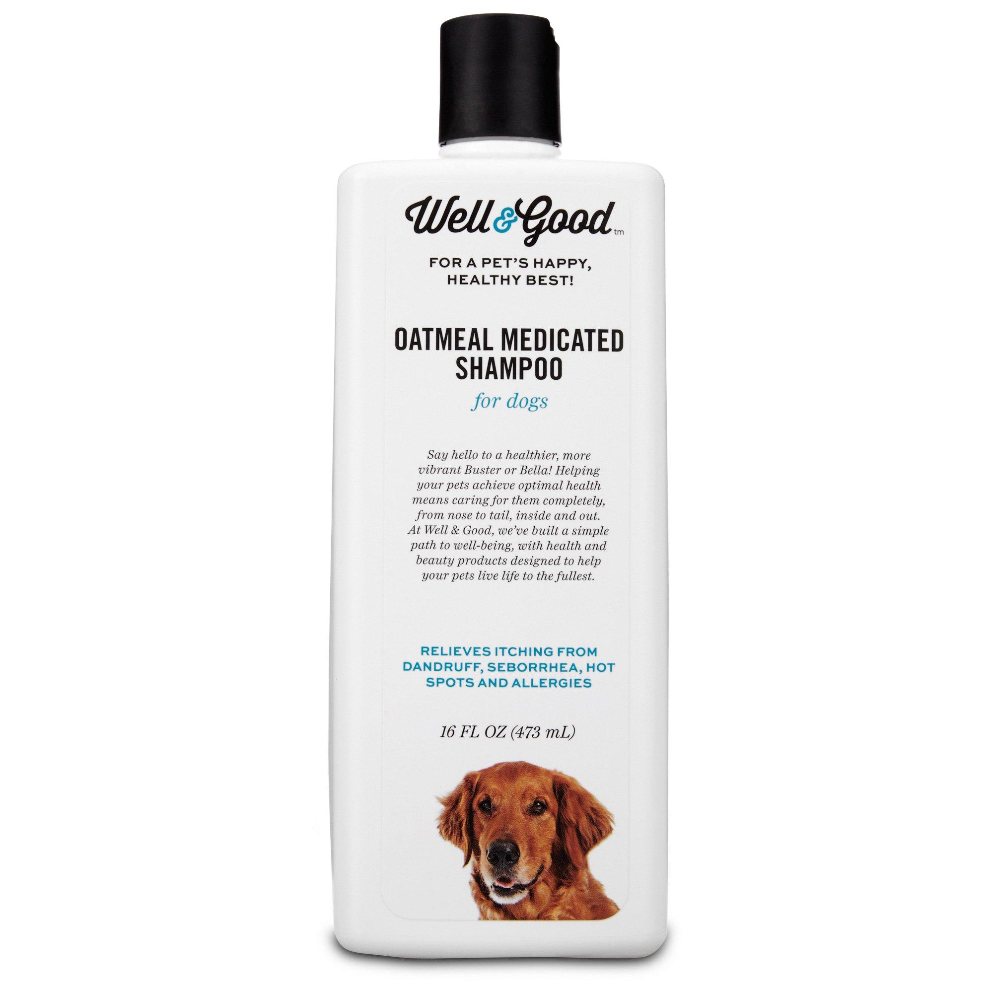 Well & Good Oatmeal Medicated Dog Shampoo